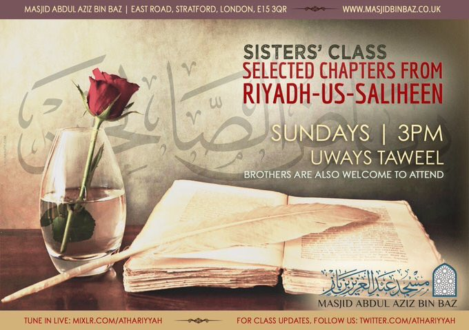 Selected Chapters from Riyadh-us-Saliheen
